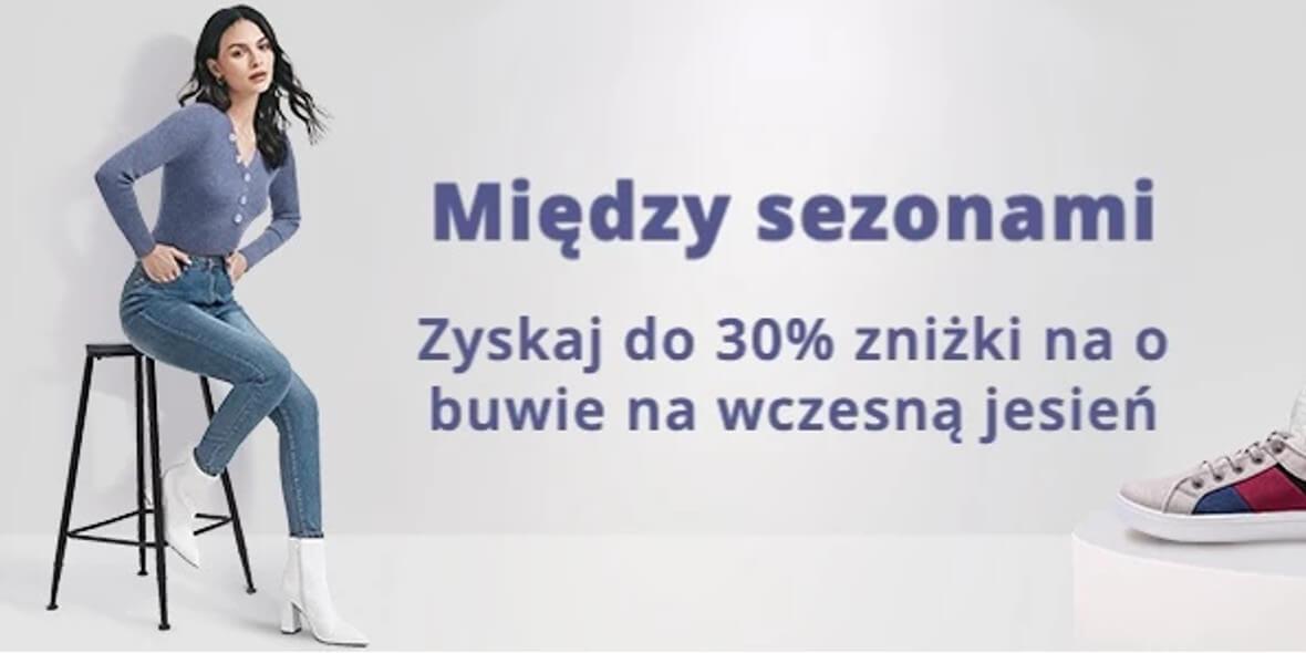 AliExpress: Do -30% na obuwie na wczesną jesień 01.08.2021
