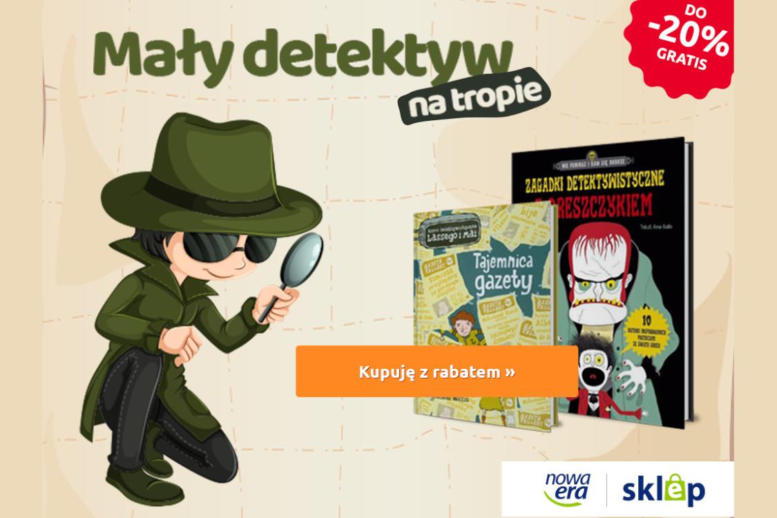 Nowa Era: Do -20% na książki detektywistyczne dla dzieci
