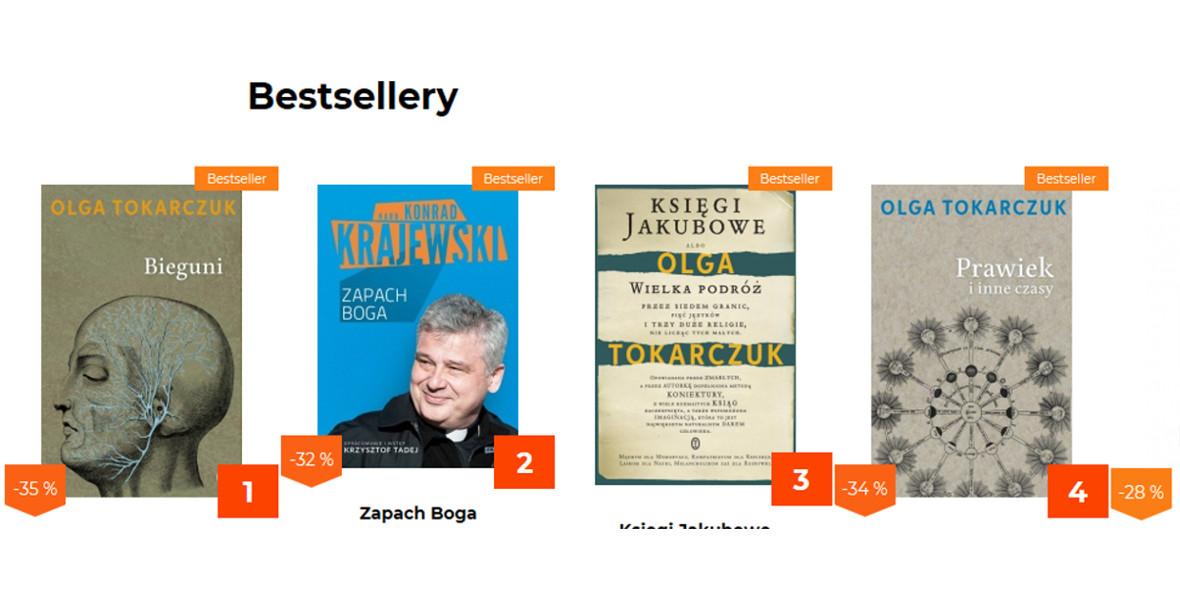 Bestsellery literackie