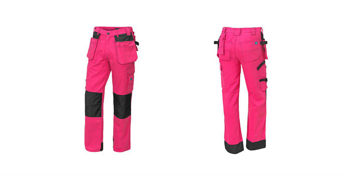 na damskie spodnie robocze