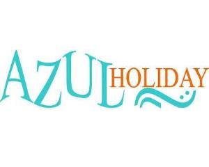 Logo Azul Holiday