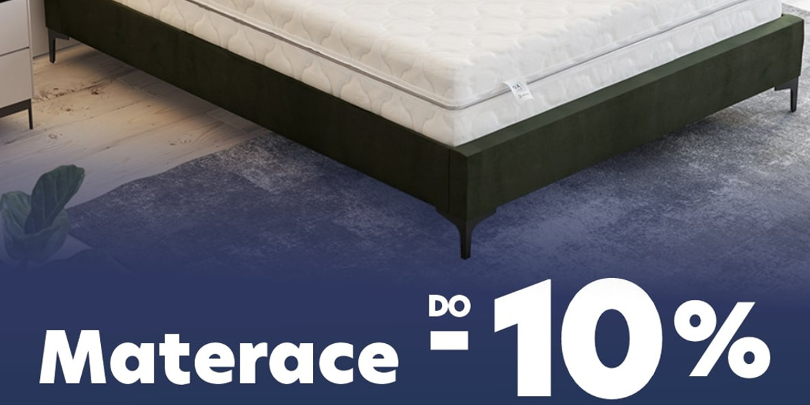 Selsey: Do -10% na materace 05.10.2021