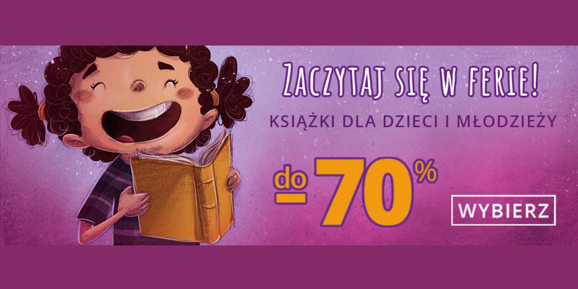 Matras.pl: Do -70% na książki dla dzieci i młodzieży
