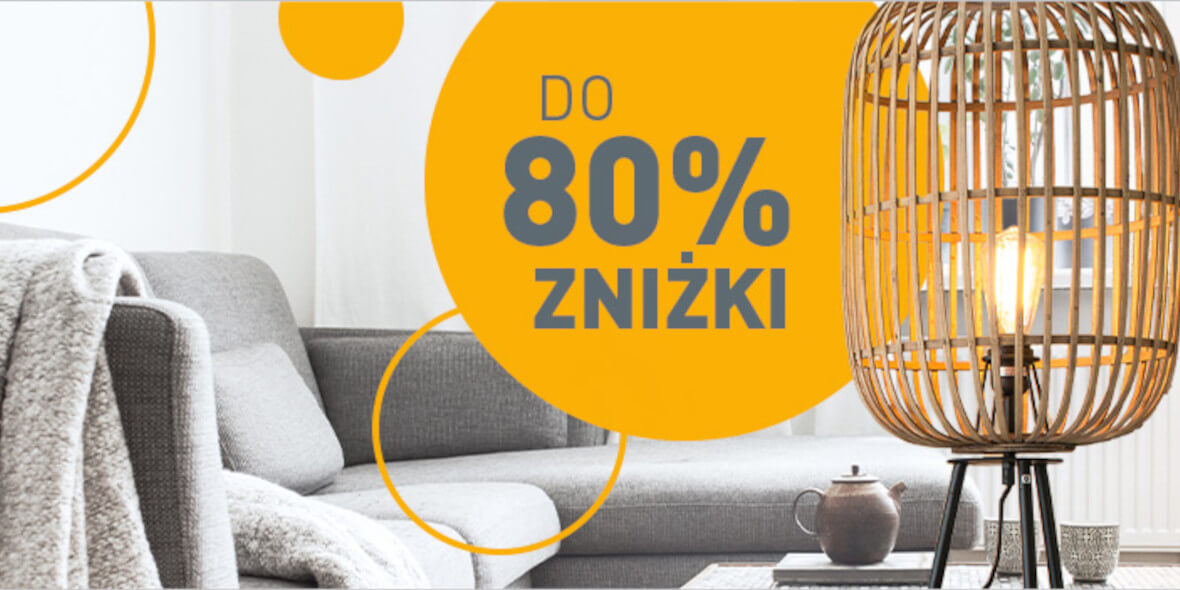 Lampyiswiatlo.pl: Do -80% na wybrane produkty