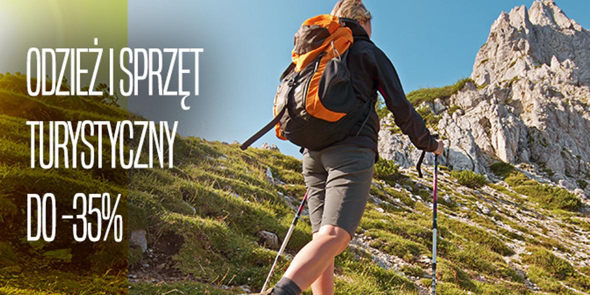 Go Sport: Do -35% na odzież i sprzęt turystyczny 21.09.2021