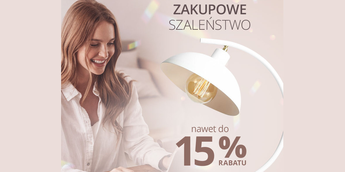 lampy.pl: Kod: do-15% na zakupowe szaleństwo
