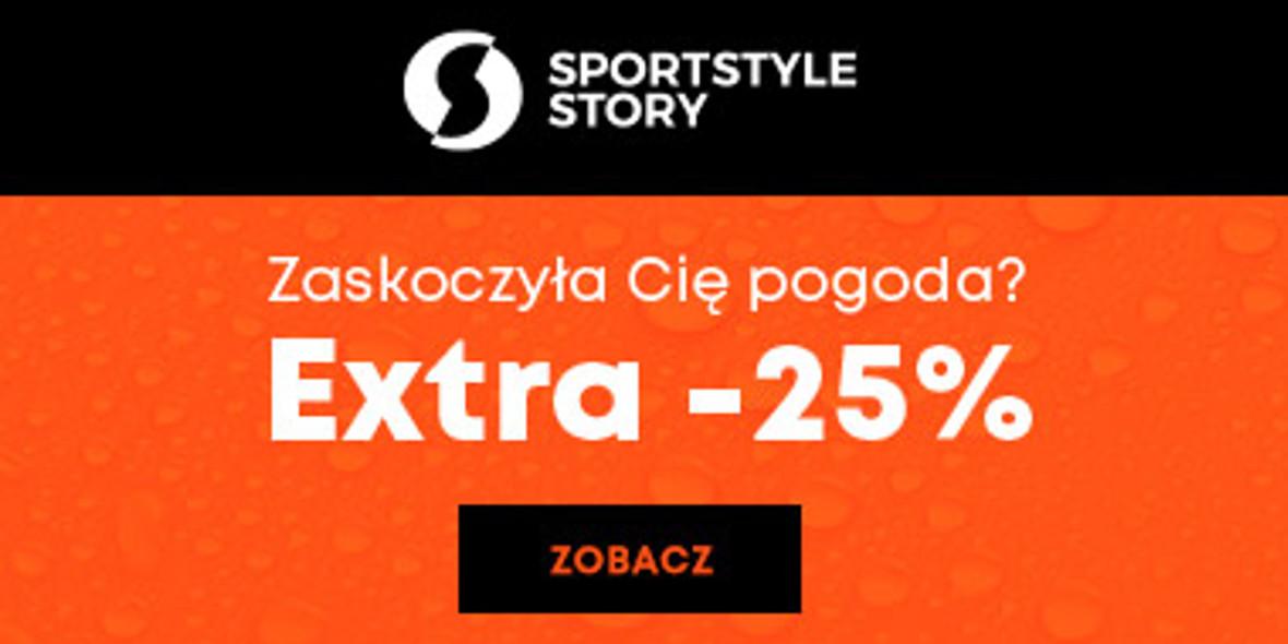Sportstylestory.com: Kod: -25% na wszystko 23.09.2021