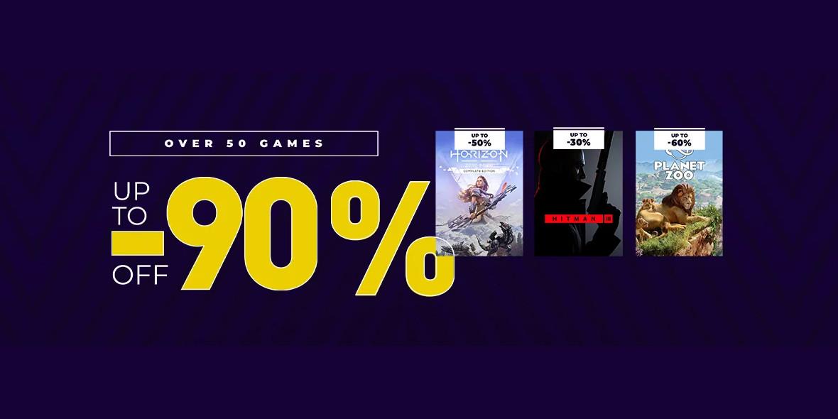 Kinguin: Do -90% i -6% z kodem na wybrane gry 18.01.2021