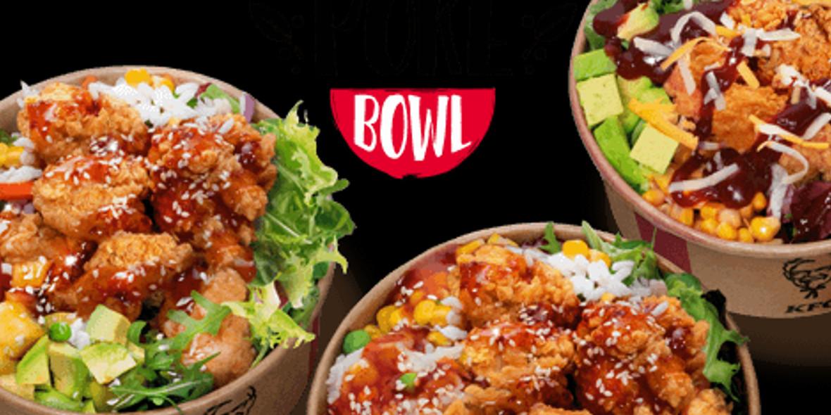 KFC: 30,95 zł za KFC Poke Bowl 11.05.2021