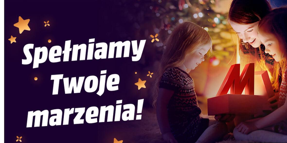 Media Markt: Od 99 zł za świąteczne prezenty 02.12.2020