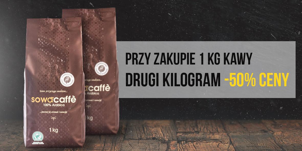 Cukiernia Sowa: -50% na drugi kilogram kawy