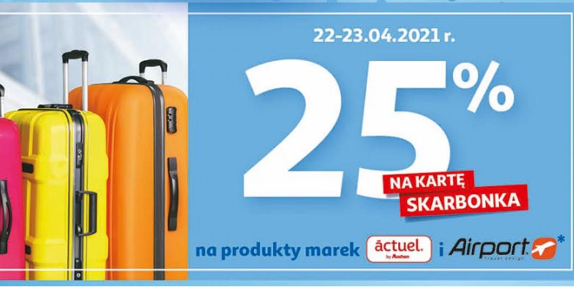 Auchan: 25% zwrotu na kartę Skarbonka na produkty wybranych marek 22.04.2021