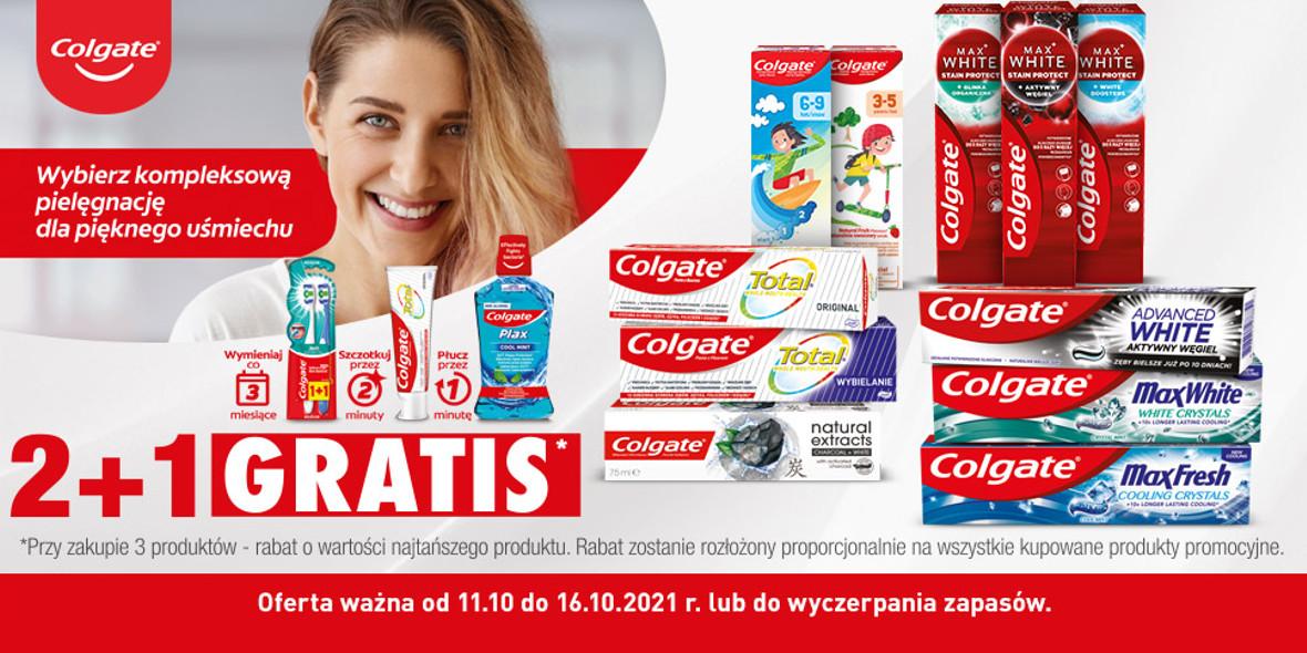 Biedronka: 2 + 1 na produkty Colgate 11.10.2021