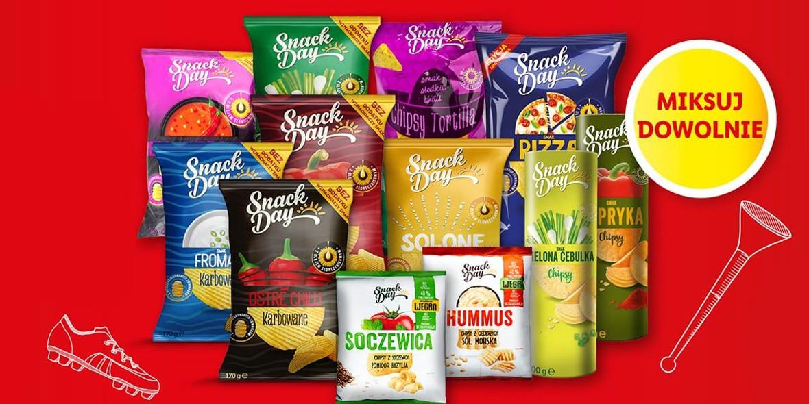 Lidl: -70% na wszystkie chipsy Snack Day 14.06.2021
