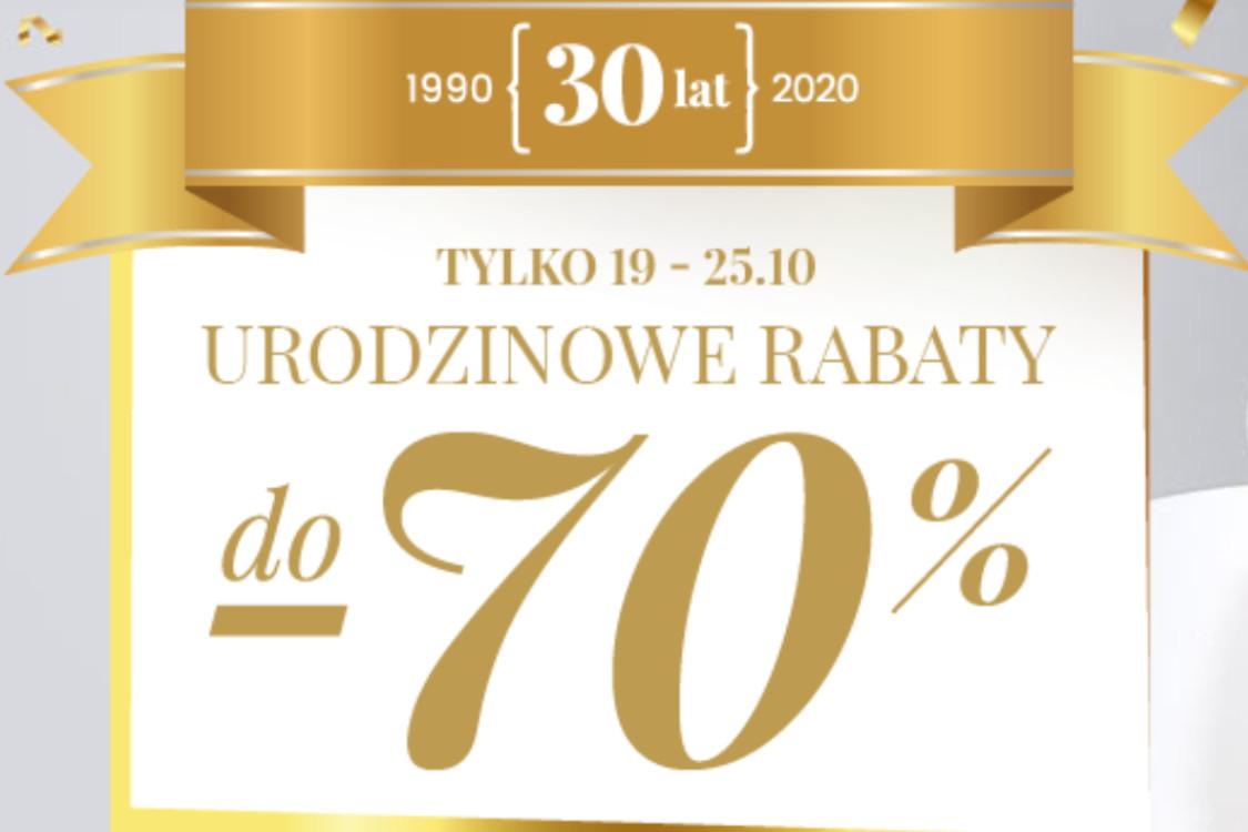 Do -70% z okazji urodzin Wittchen
