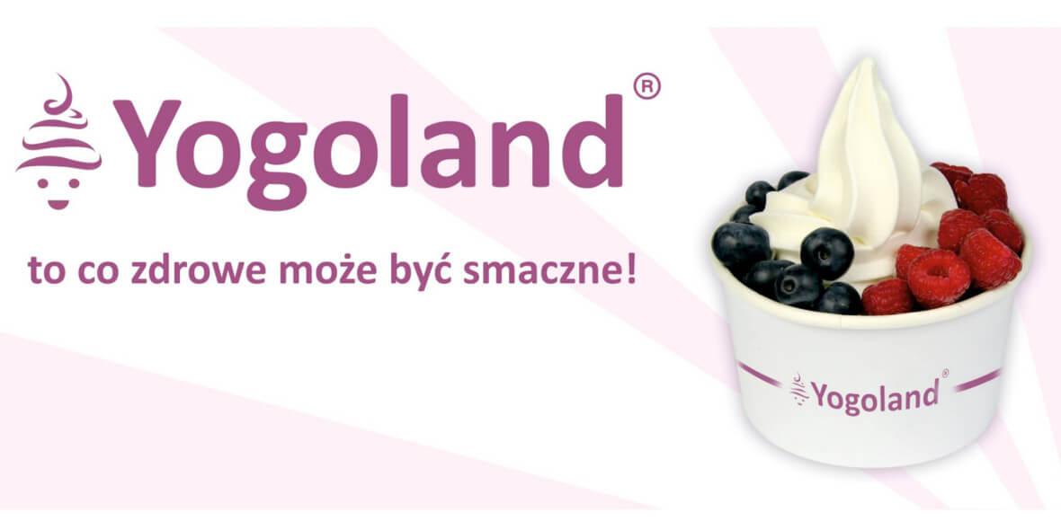 Yogoland: -15% na jogurt mrożony 25.02.2019