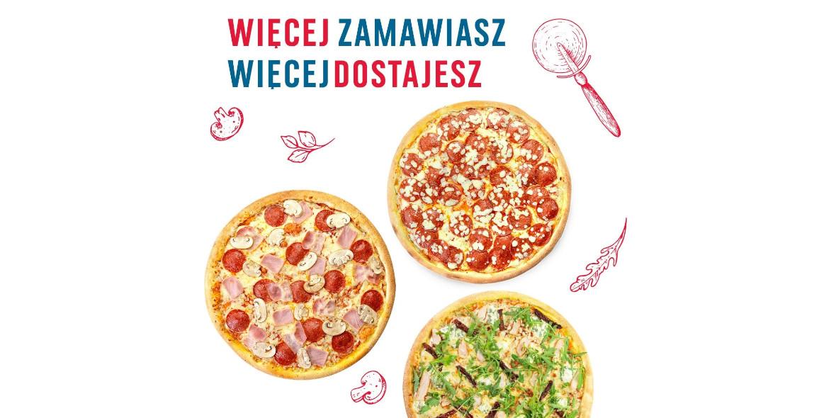 Domino's Pizza: -50% na trzy pizze