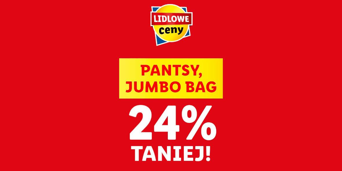 Lidl: -24% na pantsy Jumbo Bag 18.10.2021