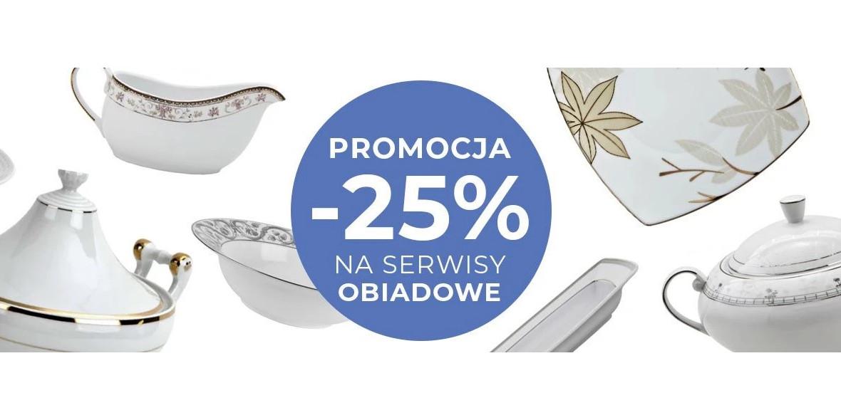 Witek.pl: -25% na serwisy obiadowe