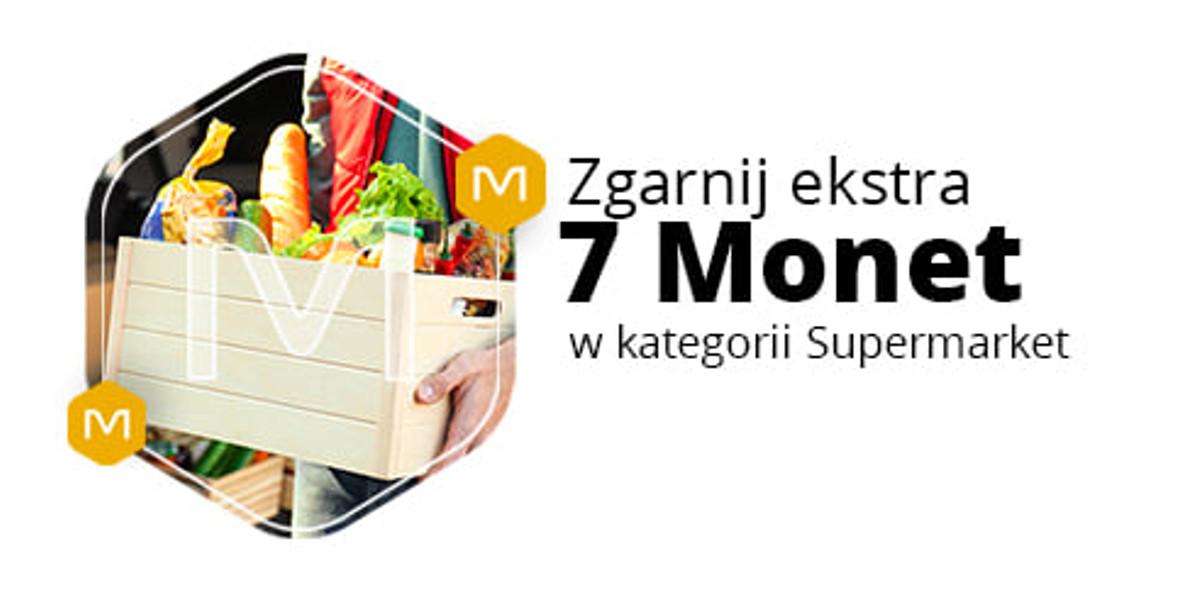 Allegro.pl: +7 Monet przy zakupie 2 produktów z działu Supermarket 09.05.2021