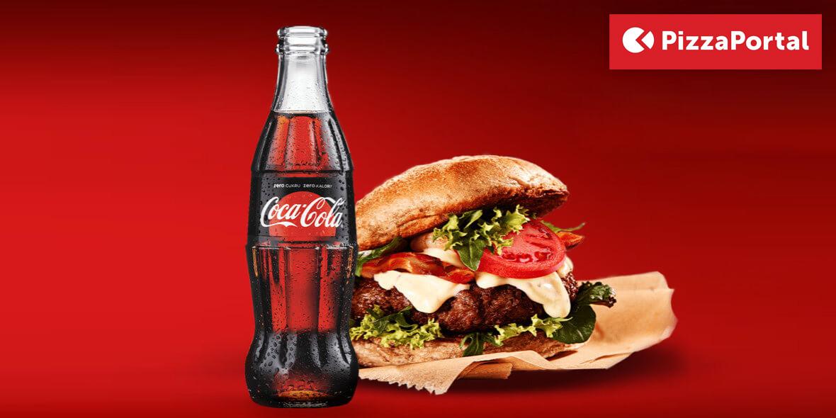 za napój Coca-Cola Zero Cukru w każdy czwartek