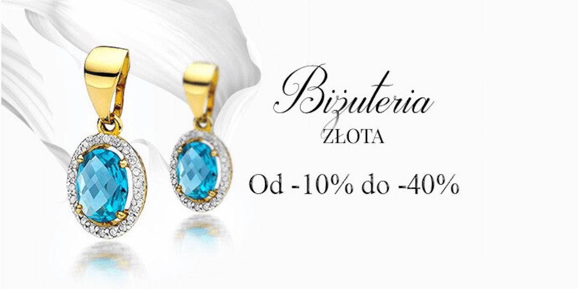 Virago: Do -40% na złotą biżuterię 22.03.2021