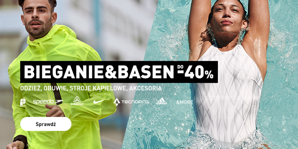 Intersport: Do -40% na bieganie i basen 23.09.2021