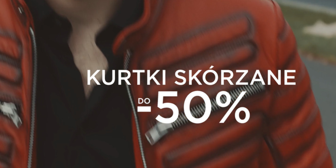 Giacomo Conti: Do -50% na kurtki skórzane 18.10.2021
