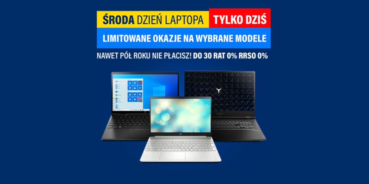 RTV EURO AGD: Do -1000 zł na laptopy 20.10.2021