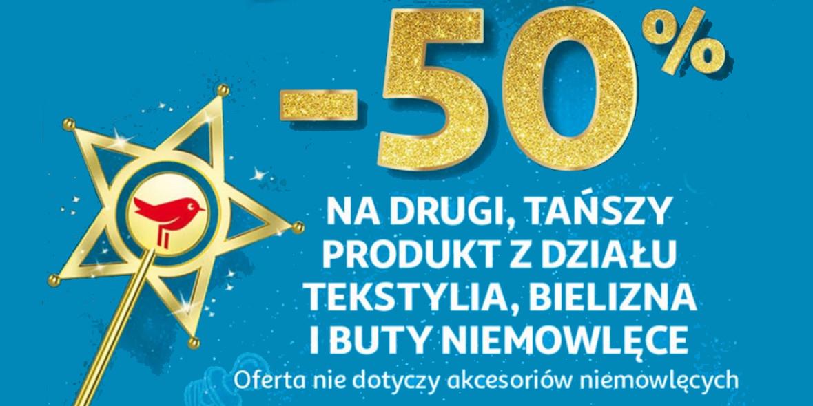 Auchan: -50% na drugi tańszy produkt 28.11.2020