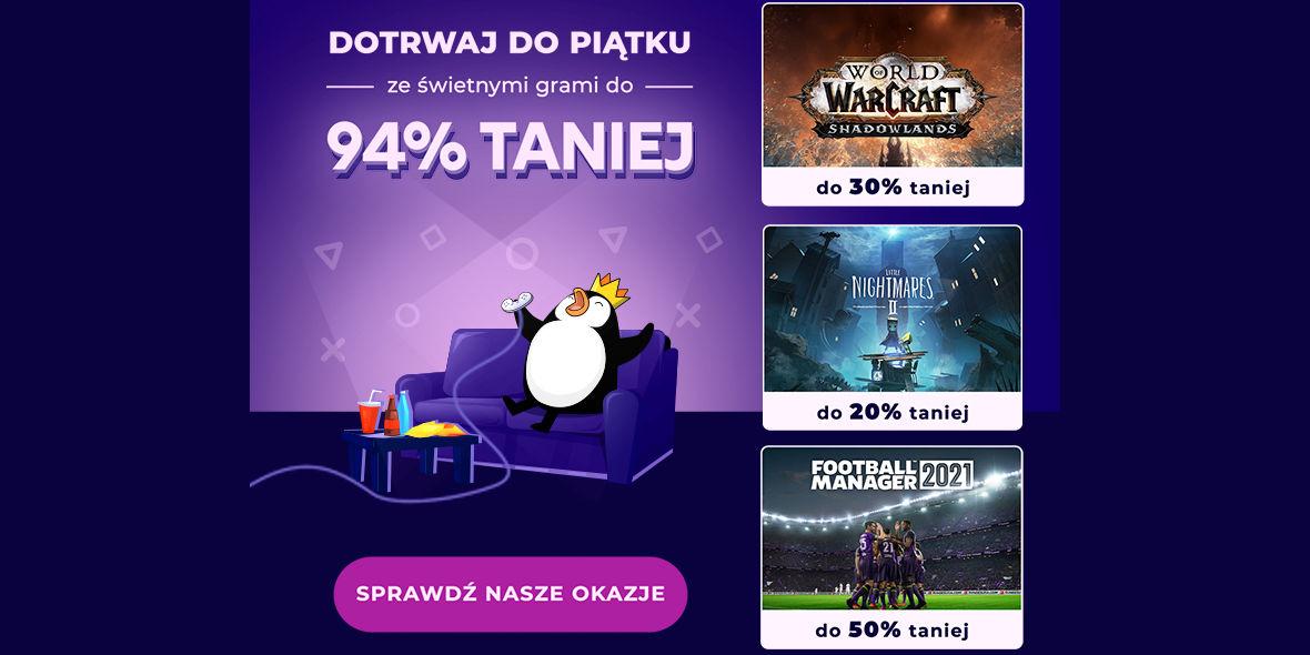Kinguin: Kod: -6% na gry komputerowe i rabaty do 94%