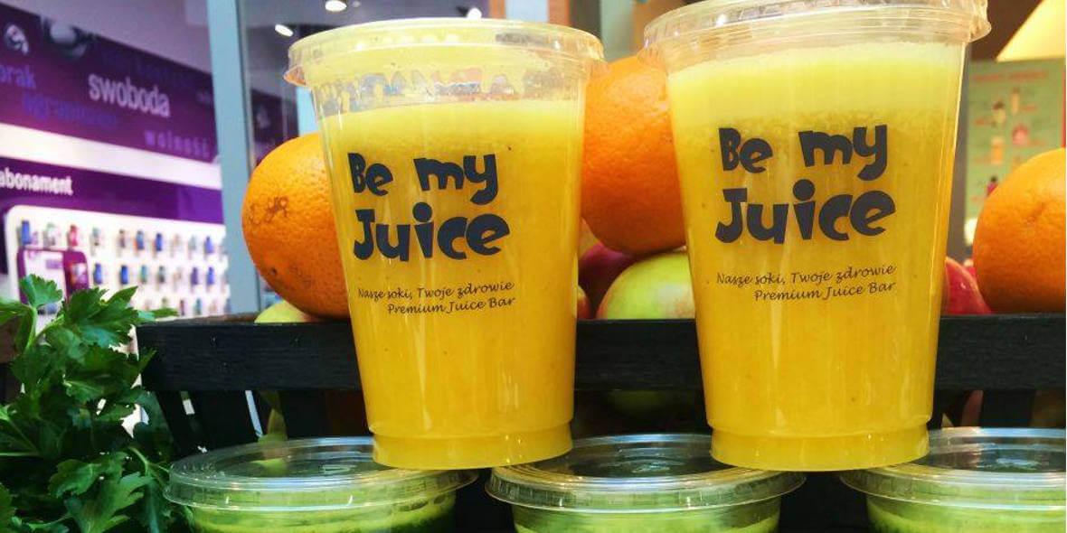 Be my Juice:  -10% na soki i koktajle owocowe 01.01.0001
