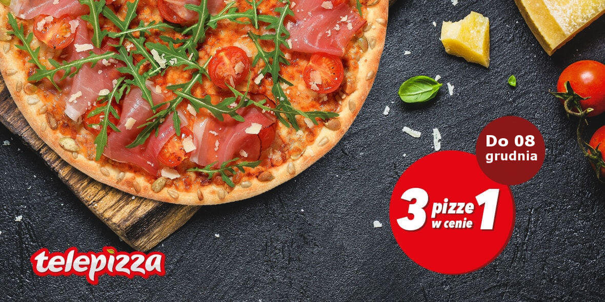 3 pizze w cenie 1