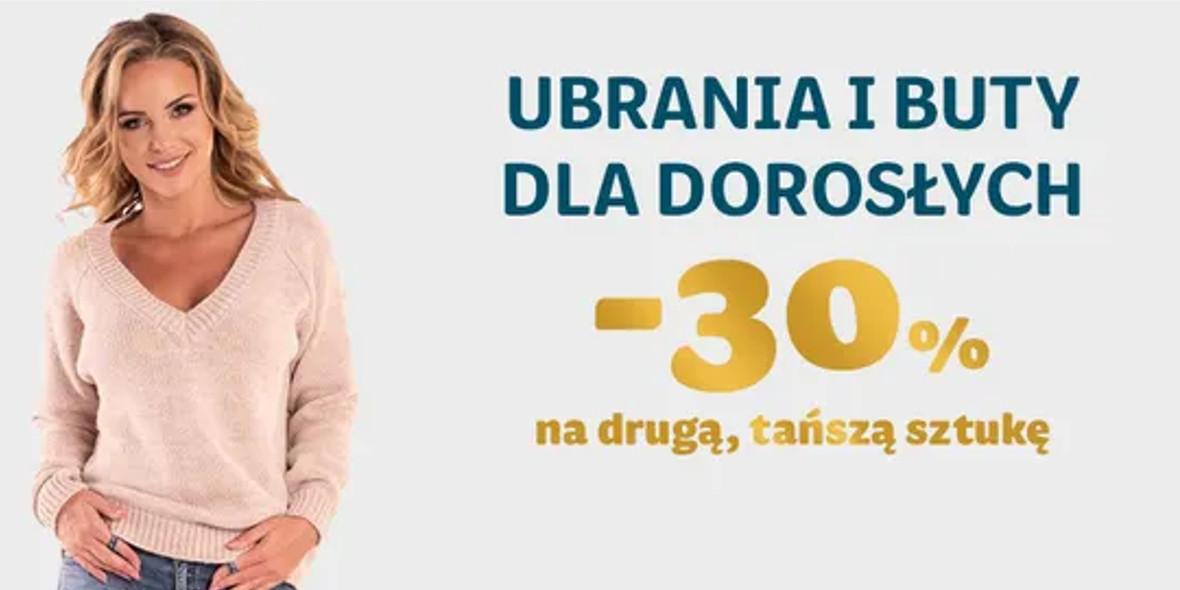 Smyk: -30% ekstra na ubrania dla dorosłych 21.10.2021