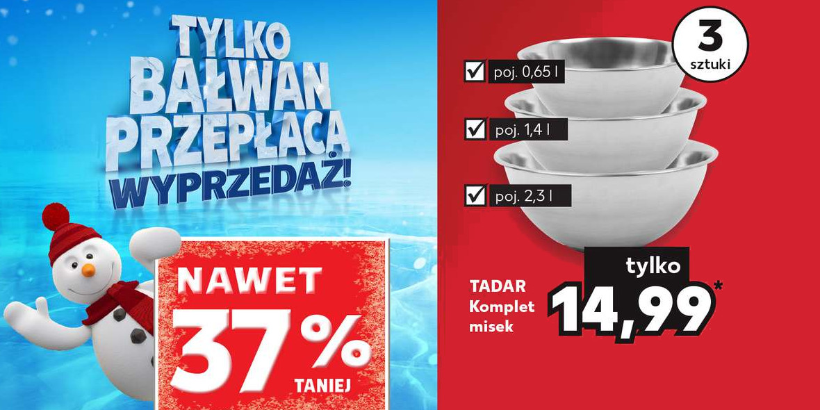 Kaufland: Do -37% na wybrany sprzęt AGD
