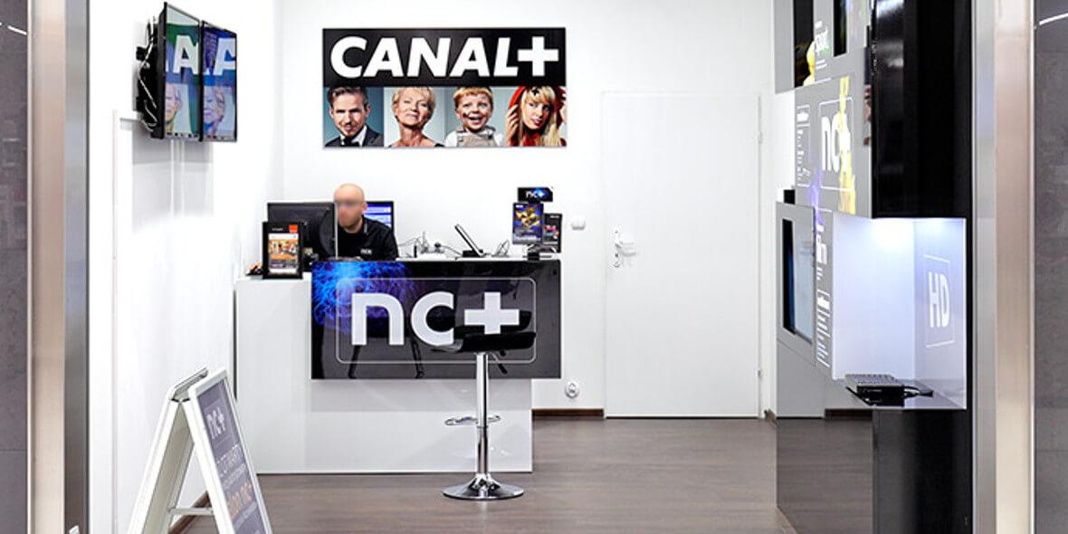 za antenę do nowej umowy z CANAL+