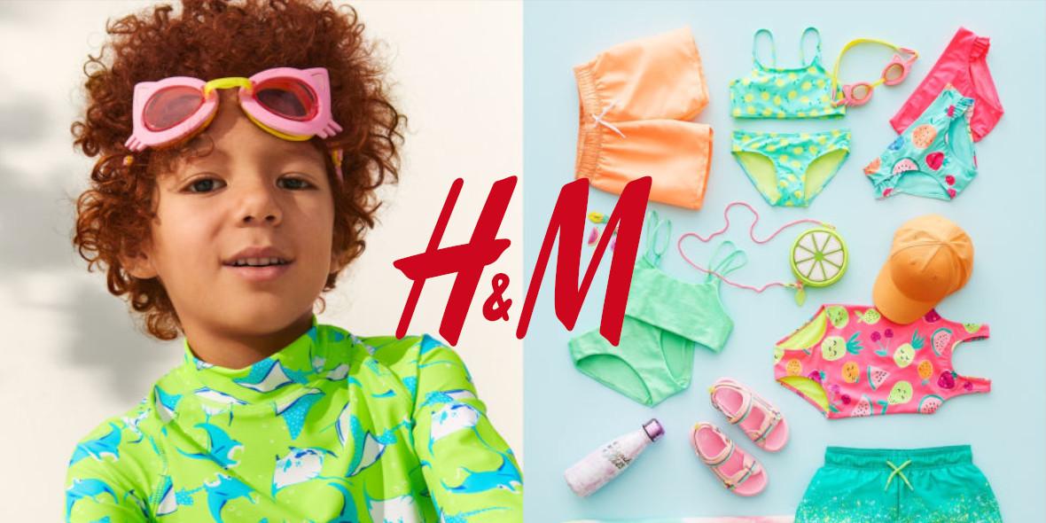 H&M:  Moda dziecięca na Lato 26.05.2021