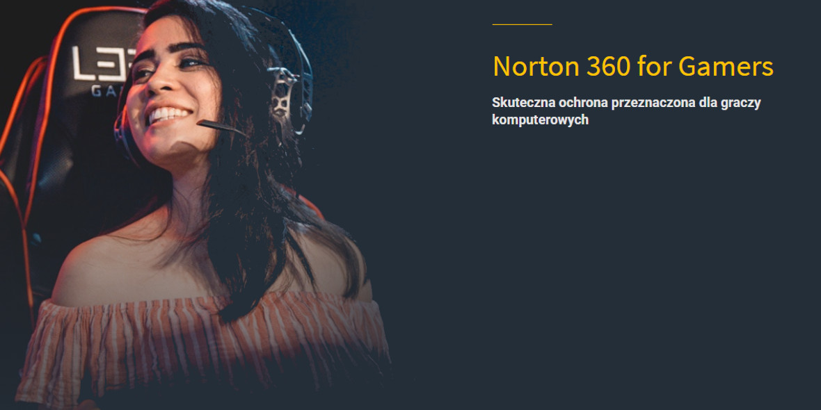 Norton: -57% na Norton 360 for Gamers