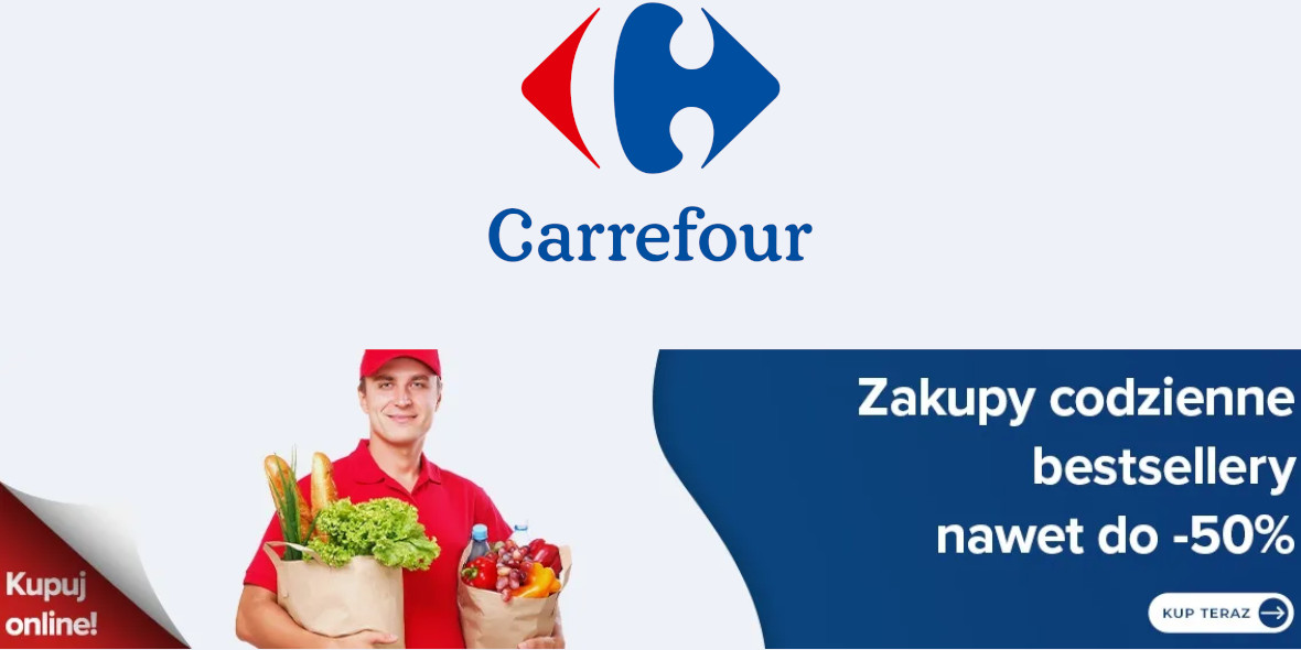 Carrefour: Do -50% na bestsellery 31.05.2021