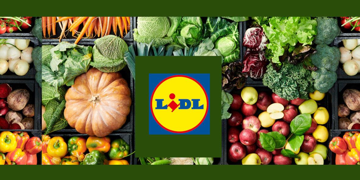 Lidl: Do -60% na warzywa i owoce 01.03.2021