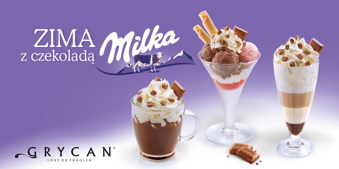 z czekoladą Milka