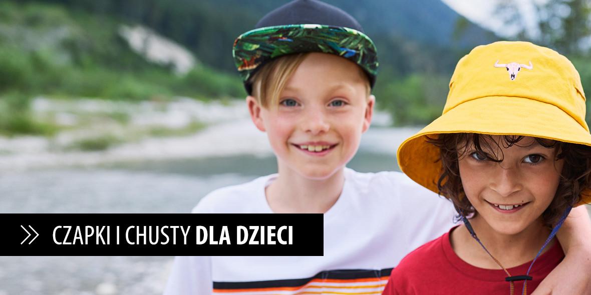 Buff: Od 49 zł na kominy, maseczki i czapki dla dzieci 27.08.2021