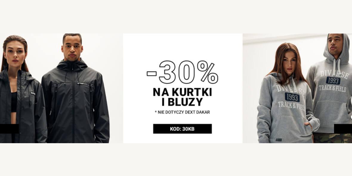 Diverse: Kod: -30% na kurtki i bluzy