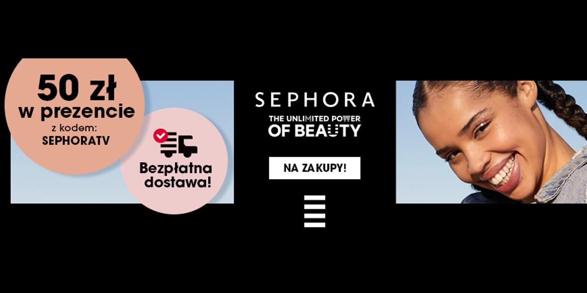 Sephora: Prezent eKarta Podarunkowa o wartości 50 zł 13.07.2021