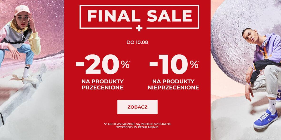 Sizeer:  Do -20% extra na wybrane produkty 03.08.2021