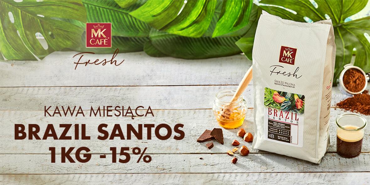na kawę Brazil Santos