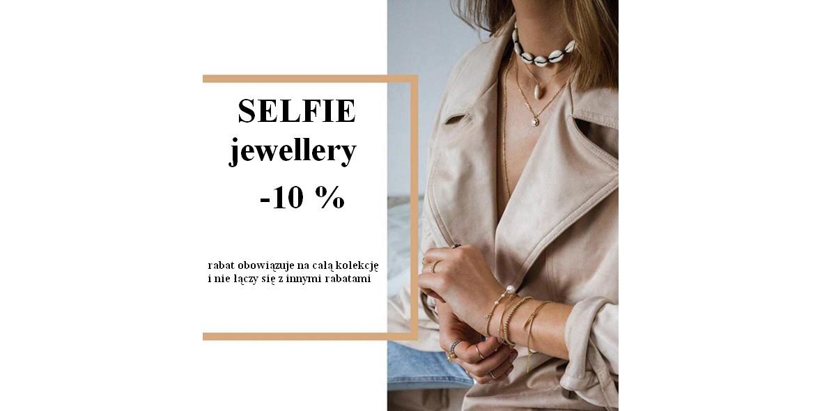 Selfie Jewellery: -10% na wszystko 11.04.2019