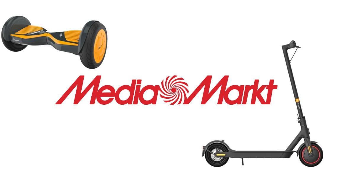 Media Markt: Do -598 zł za hulajnogi i deskorolki 13.04.2021
