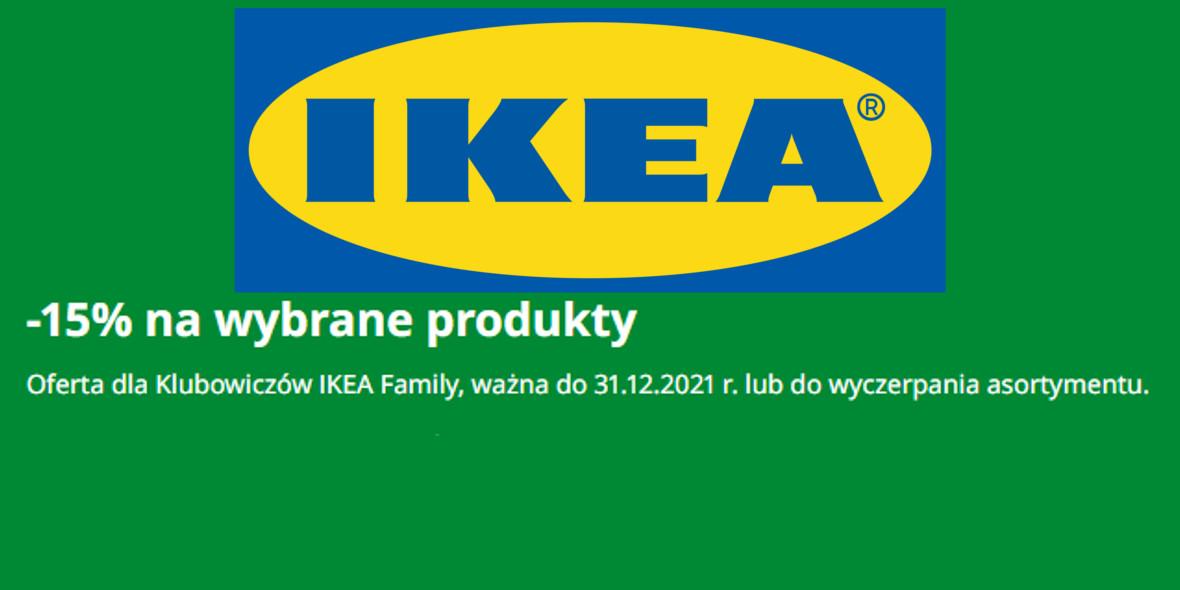 IKEA: -15% na wybrane produkty 06.10.2021
