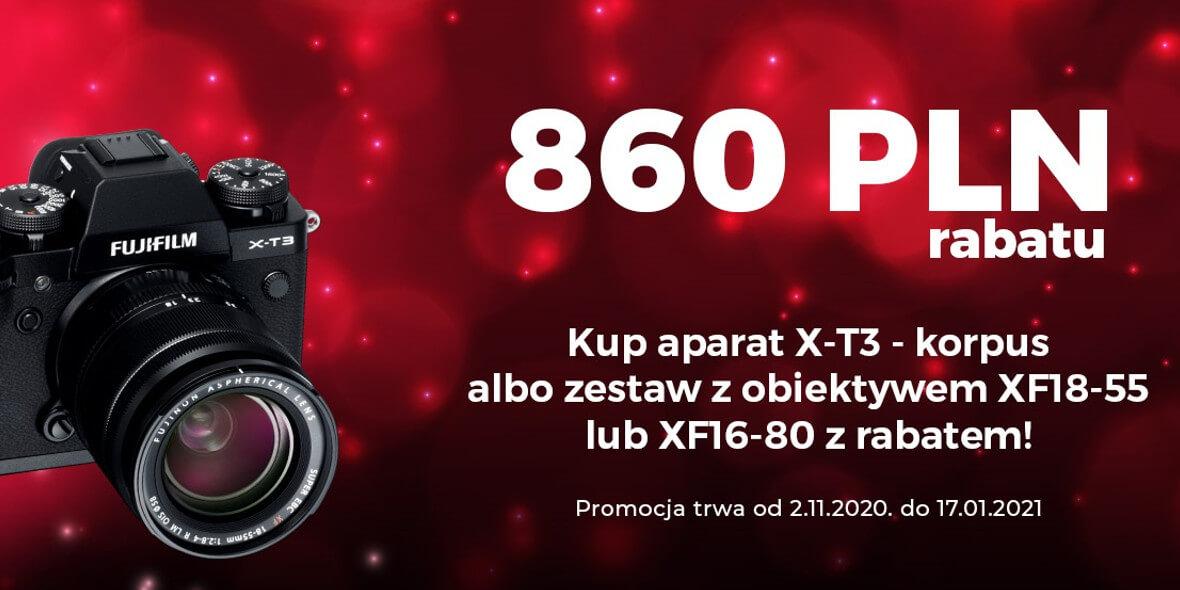 Cyfrowe.pl: -860 zł na aparat Fujifilm X-T3